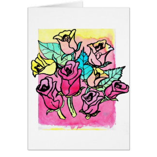 CTC International -  Roses 3 Card