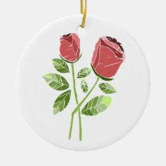 CTC International -  Roses Ceramic Ornament