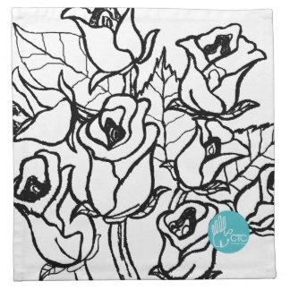CTC International - Roses Cloth Napkins