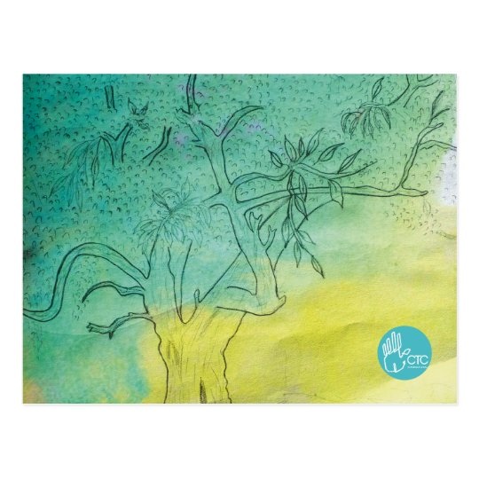 CTC International - Tree Postcard