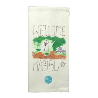 CTC International - Welcome Printed Napkins