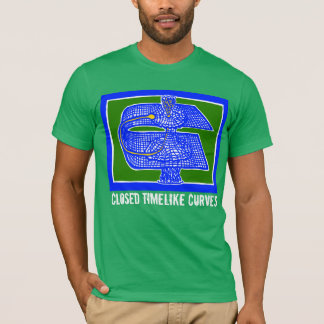 CTCs Theoretical Physics tee by ScienceFrontiers