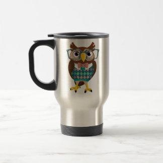 Cte Nerdy Glasses Owl Coffee Mug