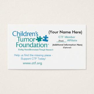 CTF Business Card - Customize It! - Customized