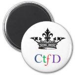 CTFD round magnet
