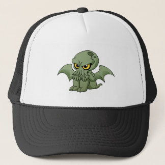 Cthulhu baby trucker hat