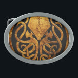 """Cthulhu Belt Buckle<br><div class=""""desc"""">A creature from the mind of H.P. Lovecraft.</div>"""