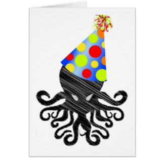 Cthulhu Birthday Card