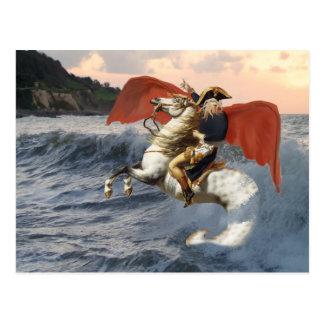 Cthulhu Bonaparte on the Beach. Postcard