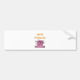 cthulhu bumper stickers