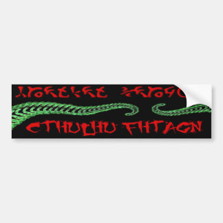 Cthulhu Bumper Sticker
