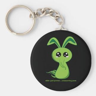 Cthulhu Bunny Basic Round Button Keychain