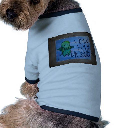 Cthulhu Camiseta Con Mangas Para Perro