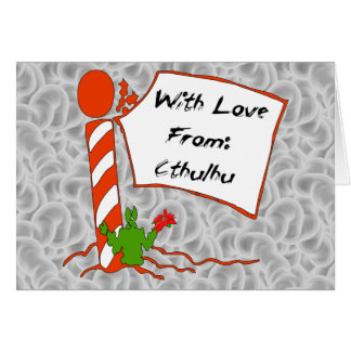 Cthulhu Christmas Greeting Cards