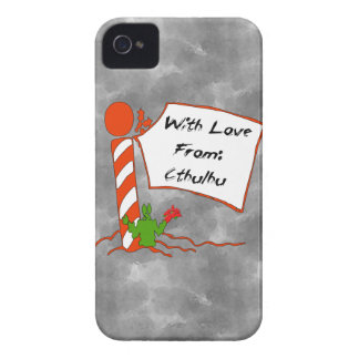Cthulhu Christmas iPhone 4 Cover
