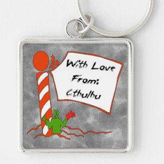 Cthulhu Christmas Keychain