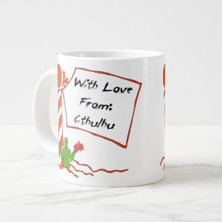 Cthulhu Christmas Large Coffee Mug