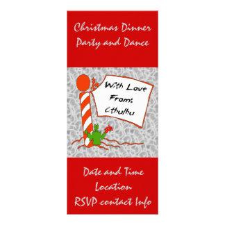 Cthulhu Christmas Rack Card