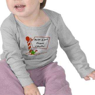 Cthulhu Christmas T Shirt