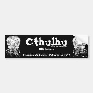 Cthulhu: CIA liaison Car Bumper Sticker