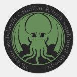 Cthulhu Classic Round Sticker