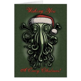 Cthulhu Claus Card