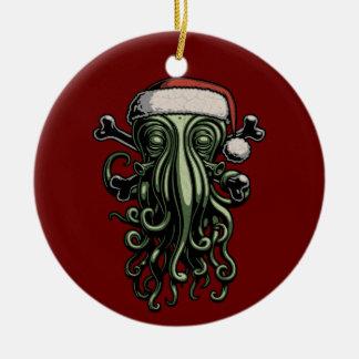 Cthulhu Claus Ceramic Ornament