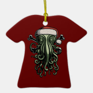 Cthulhu Claus Christmas Ornaments