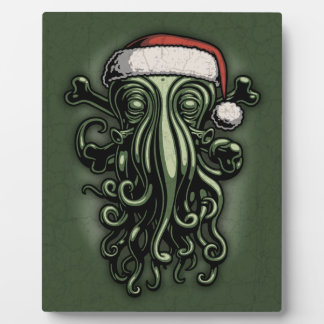 Cthulhu Claus Plaque