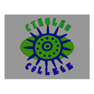 Cthulhu College Postcard