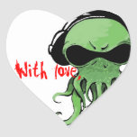 Cthulhu con amor colcomanias corazon