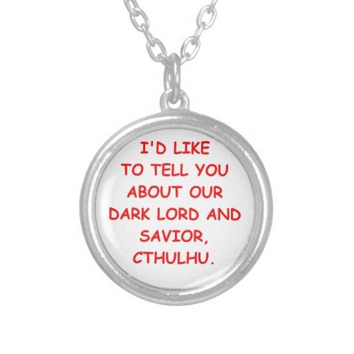 cthulhu custom necklace