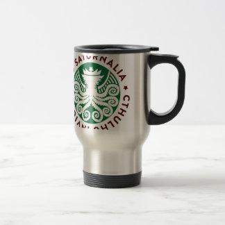 Cthulhu Declares War on Christmas Travel Mug
