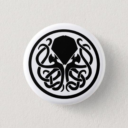 Cthulhu Emblem Button