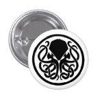 Cthulhu Emblem Buttons
