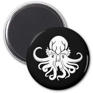 Cthulhu Fhtagn 2 Inch Round Magnet