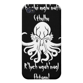 Cthulhu Fhtagn iPhone 4/4S Cover