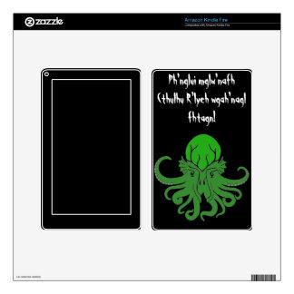 Cthulhu Fhtagn - Kindle Skin