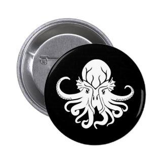 Cthulhu Fhtagn Pin Redondo 5 Cm