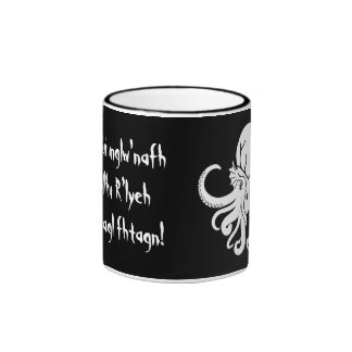 Cthulhu Fhtagn Taza A Dos Colores