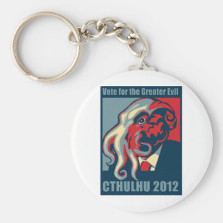 Cthulhu for President- 2012 Keychain
