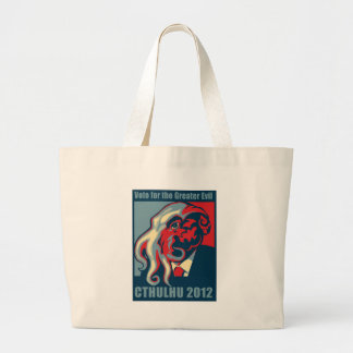 Cthulhu for President- 2012 Large Tote Bag