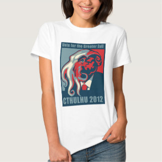 Cthulhu for President- 2012 Tees