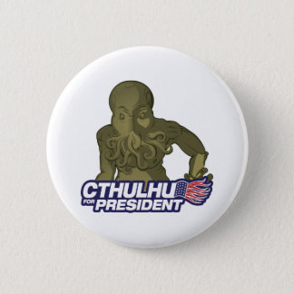 Cthulhu for President Button