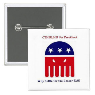 Cthulhu for President Pinback Button