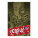 Cthulhu for President Poster