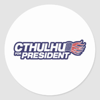 Cthulhu for President Sticker