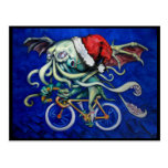 Cthulhu for Xmas Post Card