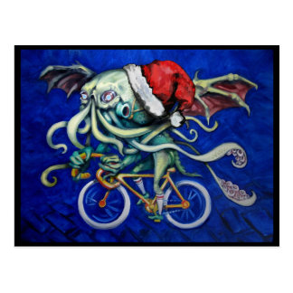 Cthulhu for Xmas Postcard