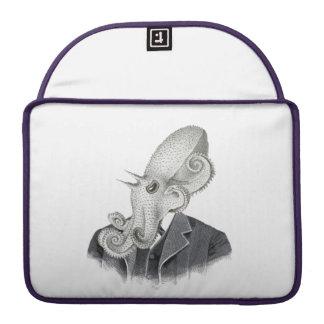 Cthulhu Gentleman Vintage Illustration Laptop Case Sleeve For MacBook Pro